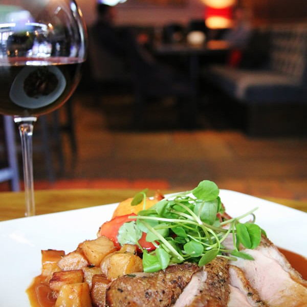 Pan fried duck breast at Oxton Bar & Kitchen